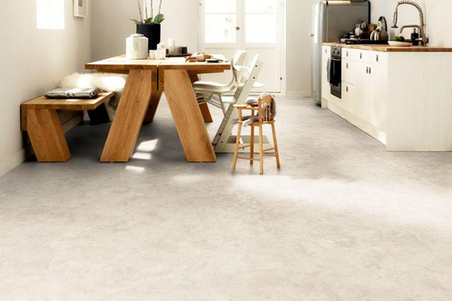 Pvc Vloer Vtwonen : Novilon uit de vt wonen collectie beton in u003e 8 kleuren
