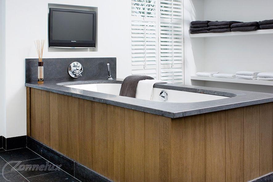 Trendy Kleuren Badkamer : Shutters uit de trend collectie badkamer geschikt in u e kleuren
